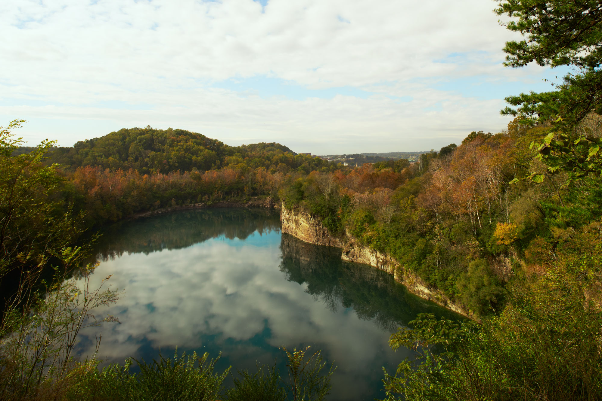 Augusta Quarry at Fort Dickerson Park